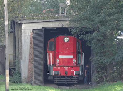Lokomotywa T448p-038 z DB Schenker Rail Polska