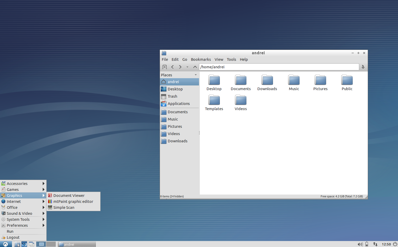 Lubuntu (w/ LXDE) 12 10 - Quick Overview ~ Web Upd8