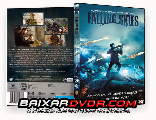 FALLING SKIES – 4ª TEMPORADA DISCO 03 (2014) DUAL AUDIO DVD-R OFICIAL
