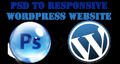 PSD to responsive WordPress conversion