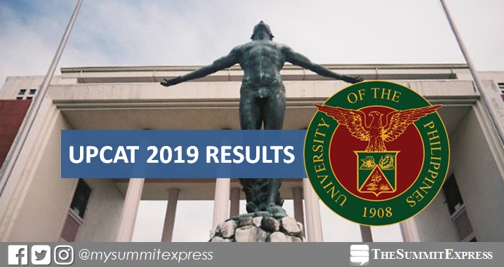 UPCAT 2019 Full Results out