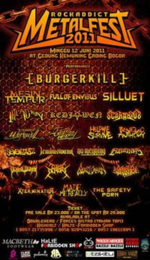 ROCKADDICT METAL FEST 2011 (on Sunday, 12 Juni 2011)