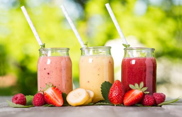 Các loại sinh tố trái cây giúp làm trắng da từ bên trong  Fruit smoothie