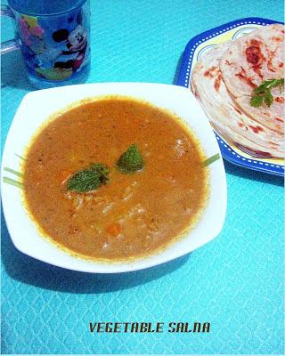 Tomato salna for parotta