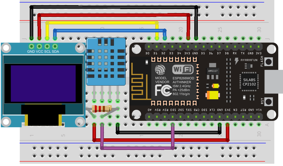 My Esp8266 Wifi Model Development Board