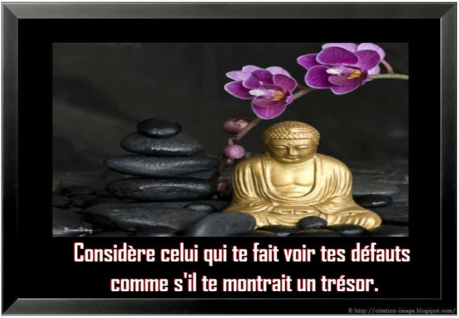 Image citation bouddhiste ~ Citation en image : photo citation