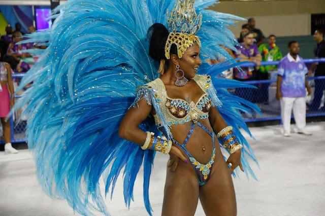 Brazilian samba queen
