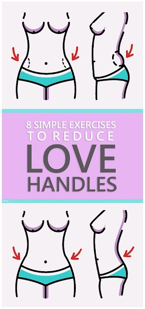 8 Simple Exercises to Reduce Love Handles Women
