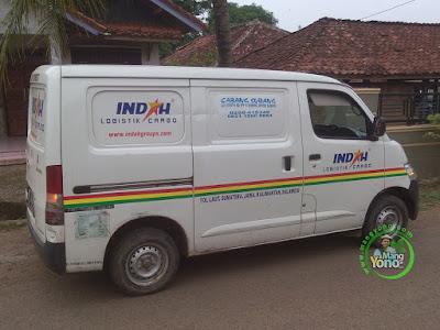 Indah Cargo pic up benih padi ke Warung MANGYONOcom