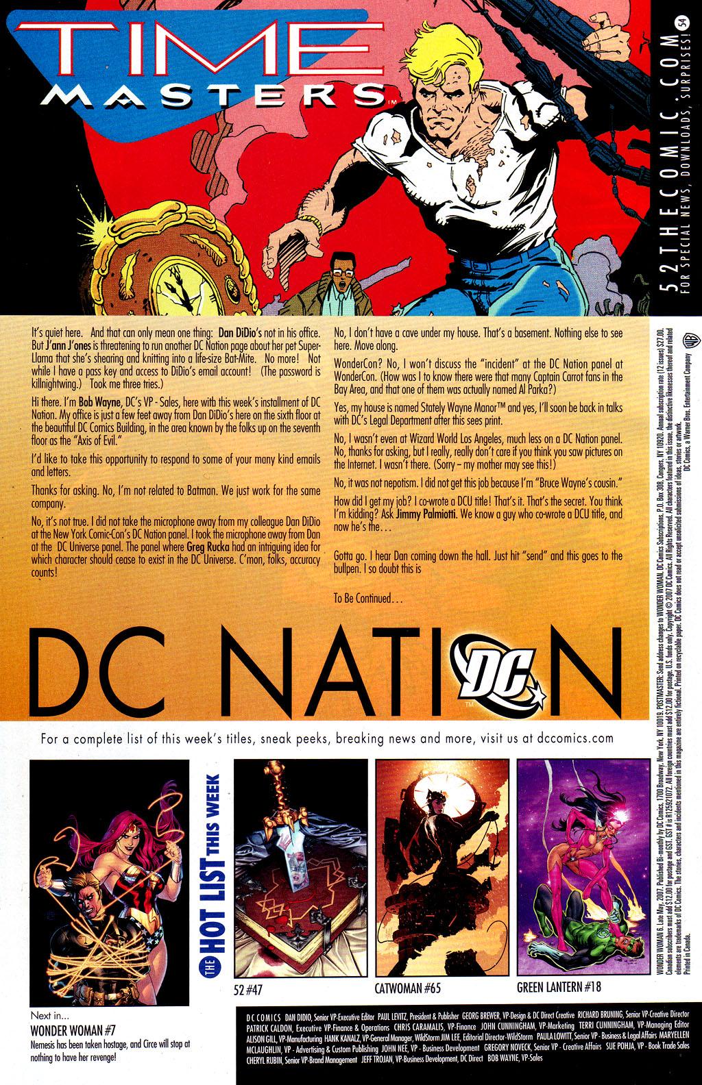 Read online Wonder Woman (2006) comic -  Issue #6 - 23