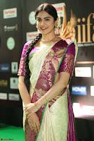 Adah Sharma looks super cute in Saree at IIFA Utsavam Awards 018.JPG
