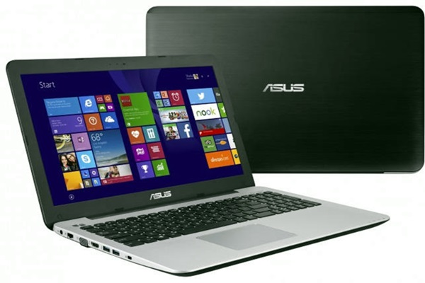 Notebook Asus K555LB vem com Intel Core i5 ou i7 5ª Geração, 6/8 GB DDR3 1600 MHz, 1 TB de HD e Geforce GT 940M 2 GB