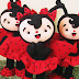 Felt Ladybug Doll Template For Printing and Crafting
