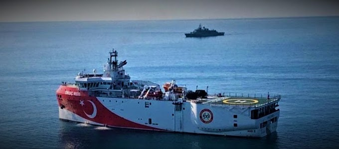 Αττάλεια: Προς απόπλου Oruç Reis; - Έκλεισε το σύστημα AIS - 12 τουρκικά πλοία & 3 υποβρύχια στην περιοχή