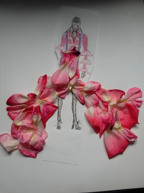 #fashionillustration #prettyinpink