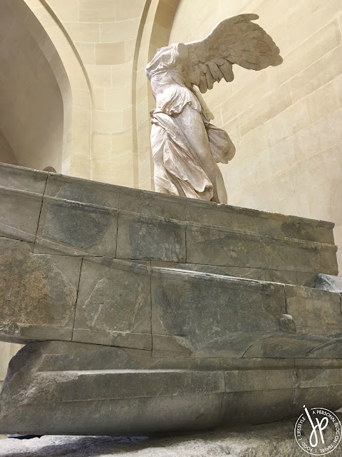 winged sculpture