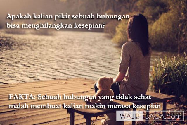 Hanya Karena Alasan Kesepian, Buru-Buru Menikah dan Asal Sikat. Please ini Bukan Permainan