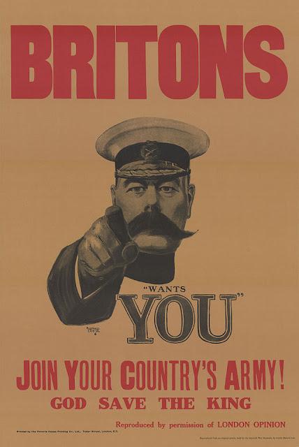 Rekrutacja -  tym razem styl brytyjski :-)