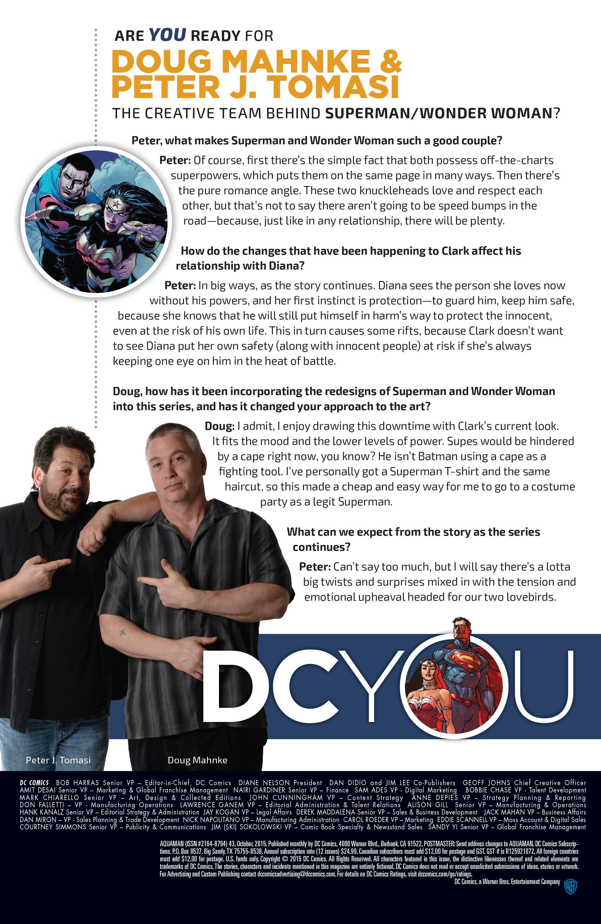 Read online Aquaman (2011) comic -  Issue #43 - 23