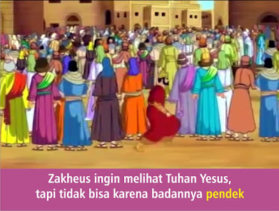 Komik Alkitab Anak: Tuhan Yesus Bertemu Zakheus