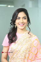 Actress Ritu Varma Pos in Beautiful Pink Anarkali Dress at at Keshava Movie Interview .COM 0116.JPG