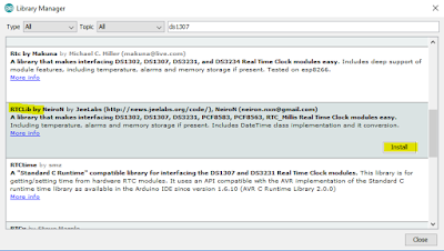 Installing RTC Library