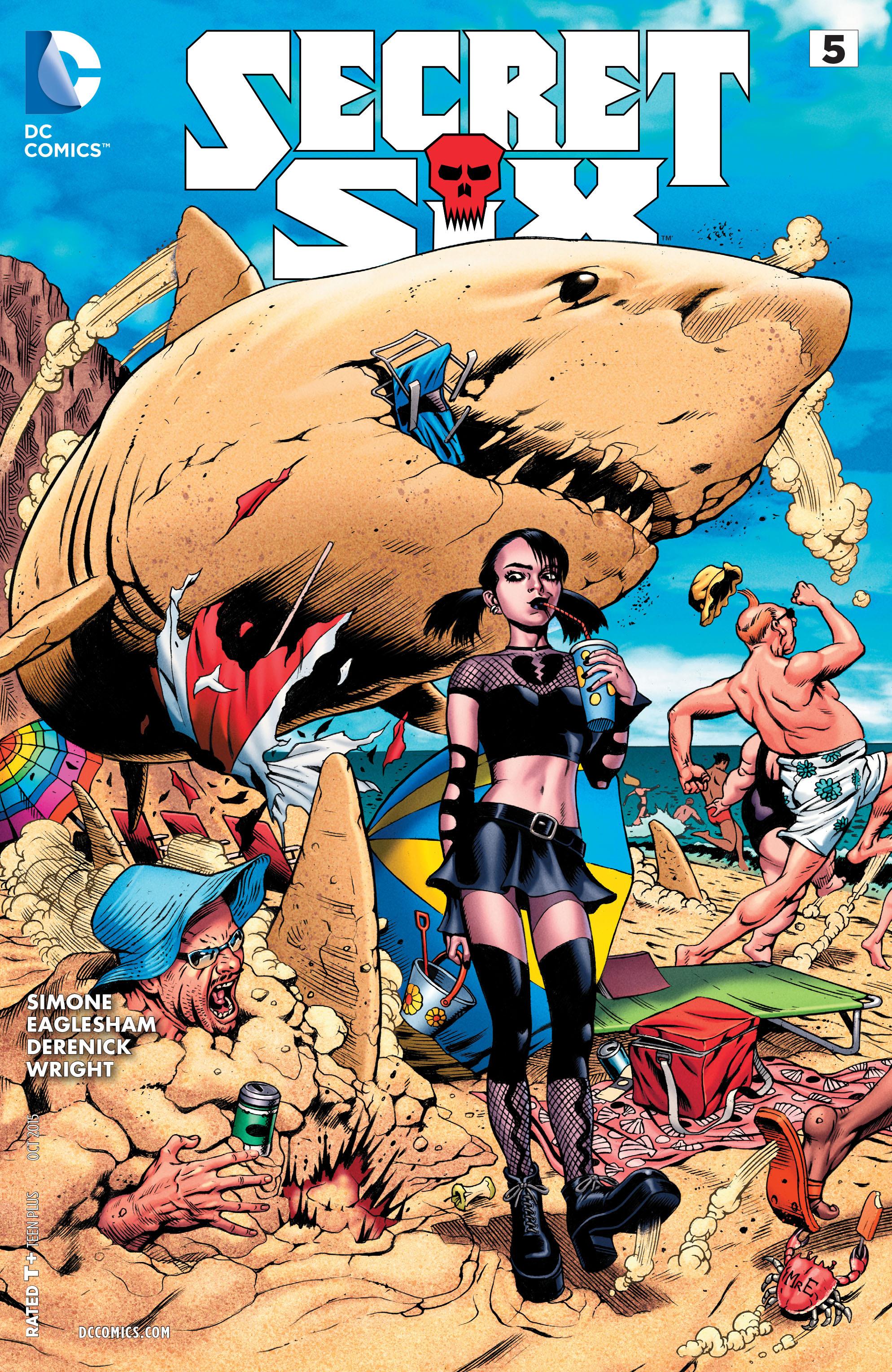 Read online Secret Six (2015) comic -  Issue #5 - 1