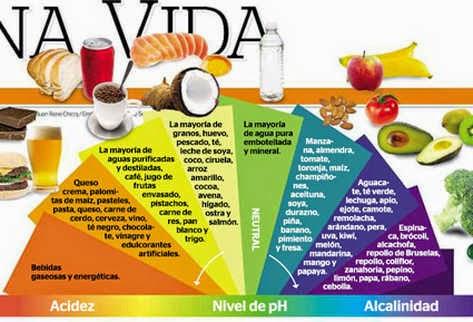 Dieta alcalina vegana menu