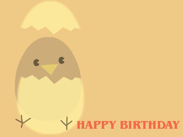 Contoh koleksi desain kartu ucapan ulang tahun dengan