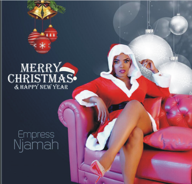 Checkout Empress Njamah's Beautiful Christmas Photos & Messages To All