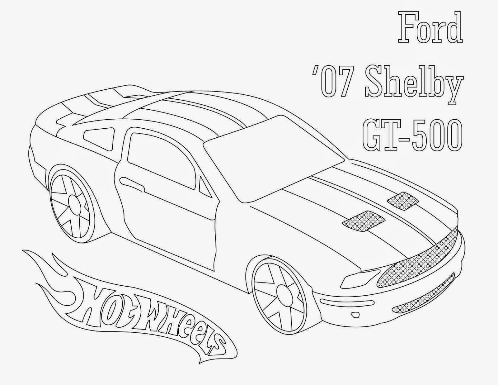 Hot Wheels Coloring Pages 47