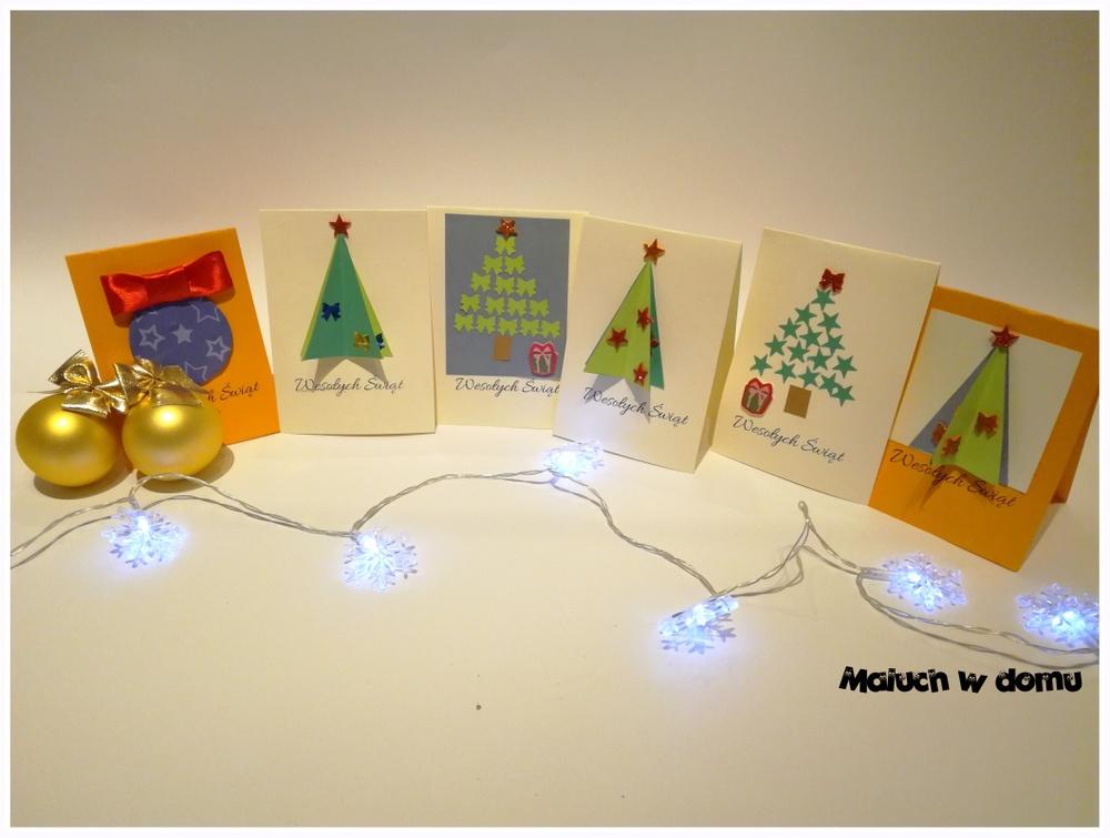 DIY:  Kartki świąteczne na Boże Narodzenie handmade