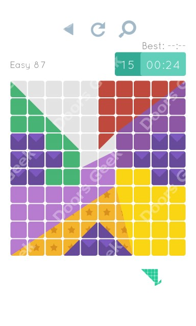 Cheats, Walkthrough for Blocks and Shapes Level 87