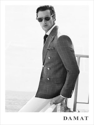 Shaun de Wet, Damat, spring 2016, lookbook, supermodel, menswear, tailored, Emre Guven, Suits and Shirts, style