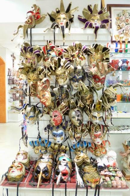 mascaras carnaval veneza1 - Souvenir em Roma