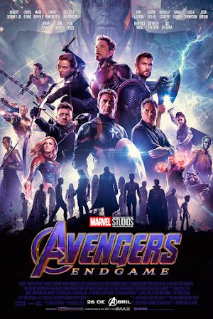 Avengers Endgame Poster Español Latino 4K