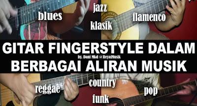 Belajar Gitar Fingerstyle Untuk Pemula, Teknik Dasar Gitar Fingerstyle