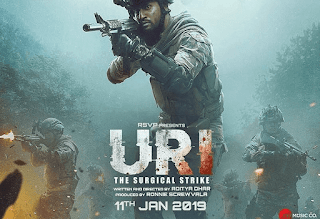 Uri The Surgical Strike 2019 Full Movie Free Download HDRip 720p