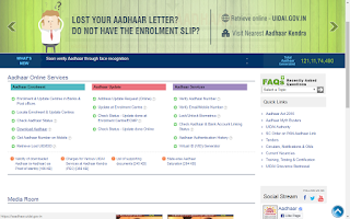 download adhar option