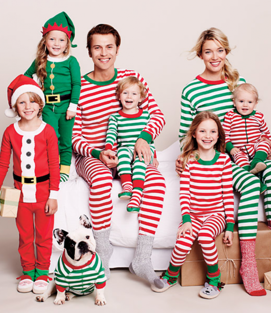 Dress your little elves in the cutest Christmas pajamas of the season. Cute pajamas for all, and to all a good night. Growing up (and admittedly even still), one of the greatest joys of Christmas was always receiving new Christmas pajamas on Christmas Eve to cozy up into as we awaited Santa's arrival.