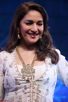 Madhuri Dixit Nene in designer Anarkali Dress at FICCI Awards 2017 002.JPG