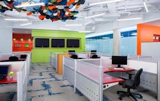Lựa chọn màu sắc phù hợp với đặc thù công việc