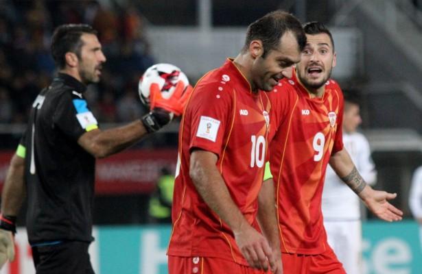 Neuformierte Liechtensteiner Abwehr gegen Mazedonischen Serie-A-Sturm