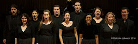 The current young artists at the National Opera Studio (Photo Malcolm Johnson)