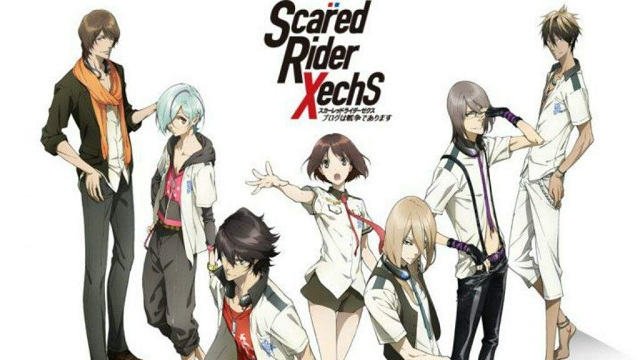 Scared Rider Xechs Sub Indo