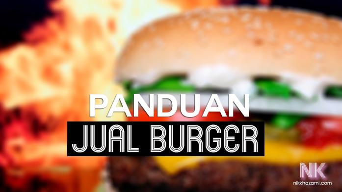 panduan jual burger