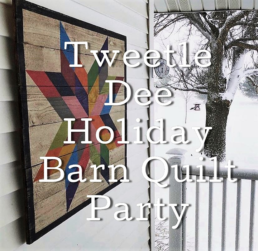 Tweetle Dee Holiday Barn Quilt Party