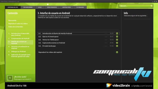 Curso Video2brain Android De 0 a 100 Español