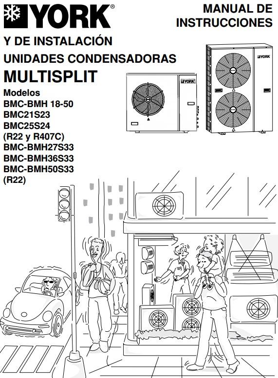 Manual de instalacion y reparacion de MultiSplit York