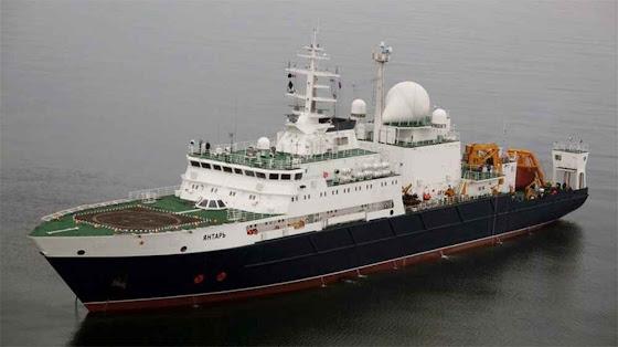O navio espião russo Yantar apareceu em Cuba
